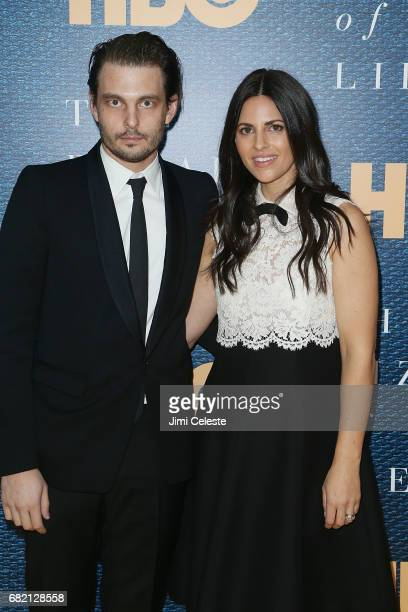 Sam Levinson and Ashley Levinson attend The Wizard Of Lies New York Premiere at The Museum of Modern Art on May 11 2017 in New York City