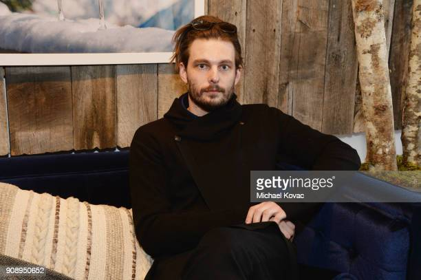 Sam Levinson attends as Grey Goose Blue Door hosts the casts of gamechanging films during the Sundance Film Festival at The Grey Goose Blue Door on...