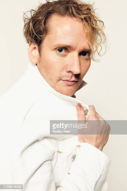 Sam Littlefield of the film 'Mother's Little Helpers' poses for a portrait at the 2019 SXSW Film Festival Portrait Studio on March 9 2019 in Austin...
