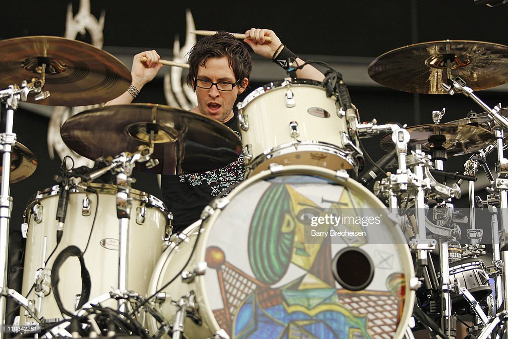 Sam Loeffler of Chevelle performs during the 2009 Rock On The Range festival at Columbus Crew Stadium on May 16, 2009 in Columbus, Ohio.