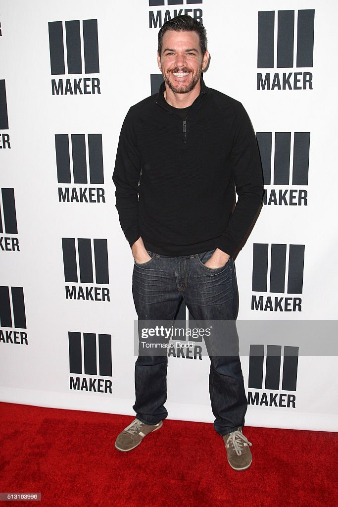 Sam Macaroni attends the Maker Studios Spark Premiere Event at ArcLight Cinemas on February 29, 2016 in Culver City, California.