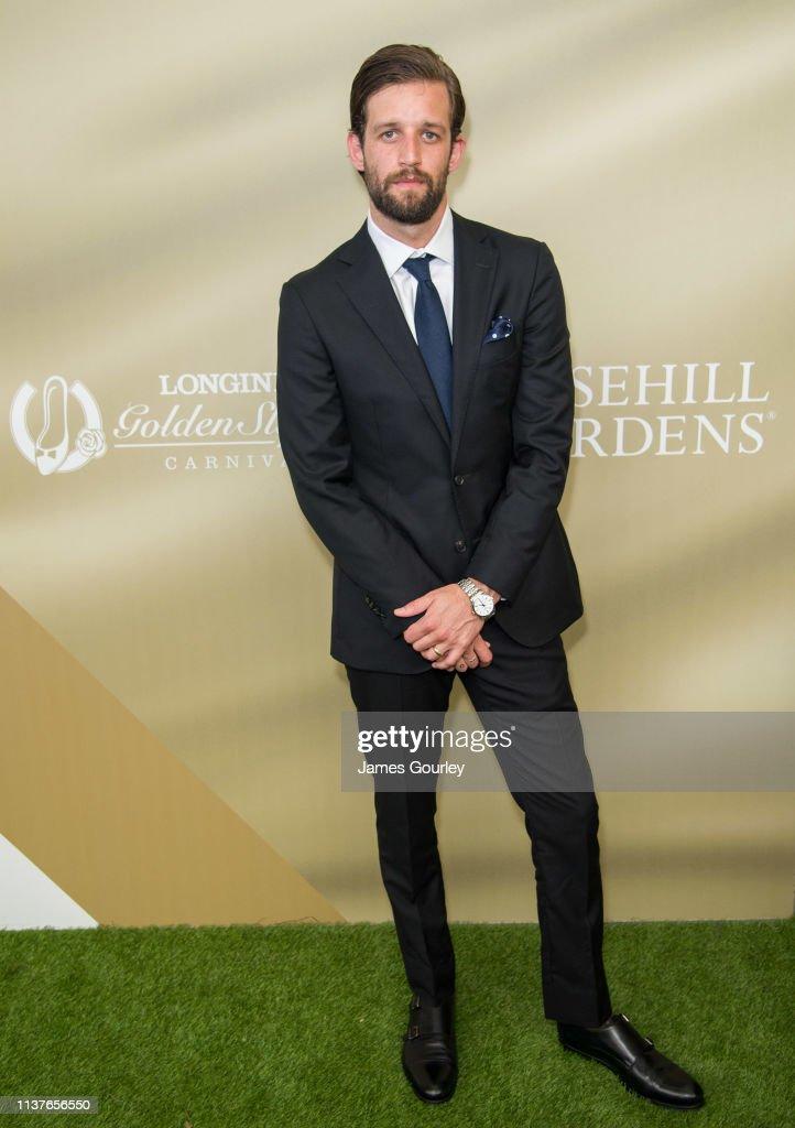 AUS: Celebrities Attend Longines Golden Slipper Day