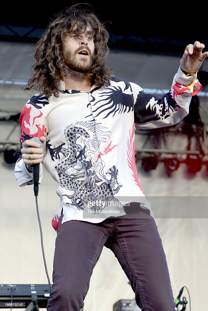 Sam Martin of Youngblood Hawk performs as part of the 2013 Voodoo