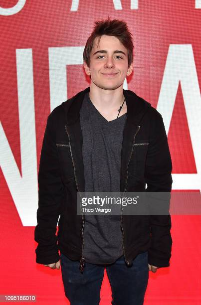 Sam McCarthy attends the SAGAFTRA Foundation Conversation 'All These Small Moments' at The Robin Williams Center on January 16 2019 in New York City