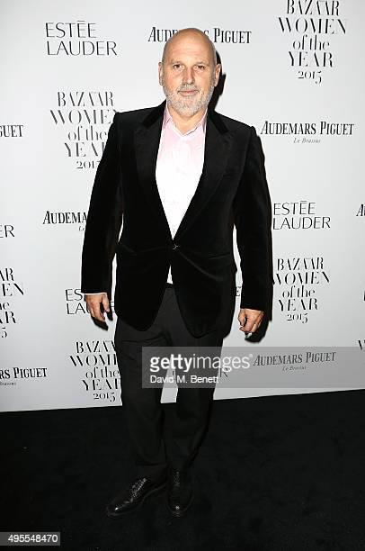 Sam McKnight attends the Harper's Bazaar Women of the Year Awards 2015 at Claridges Hotel on November 3 2015 in London England