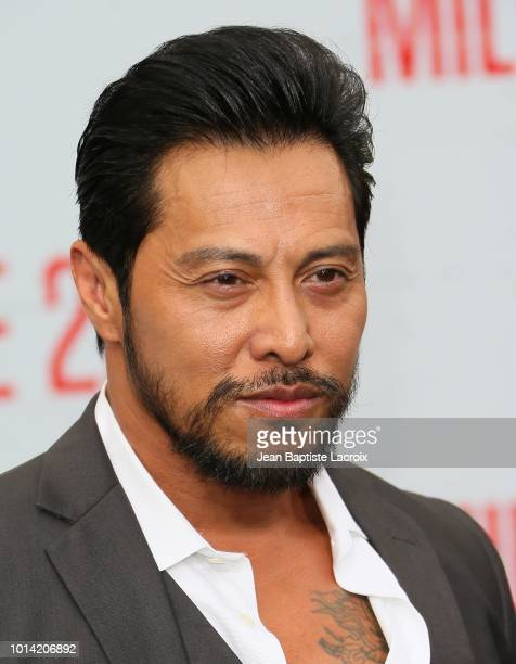 Sam Medina attends the premiere of STX Films' 'Mile 22 at Westwood Village Theatre on August 9 2018 in Westwood California