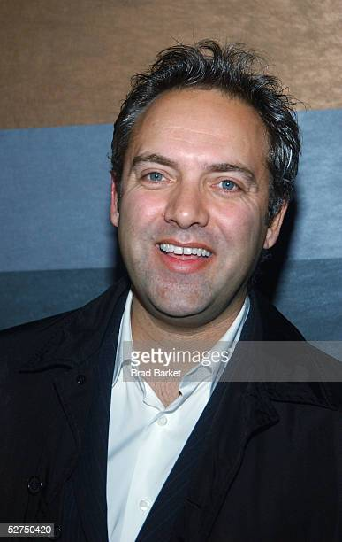 Sam Mendes arrives at The Atlantic Theater Company's 2005 Spring Gala at the Rainbow Room on May 2 2005 in New York