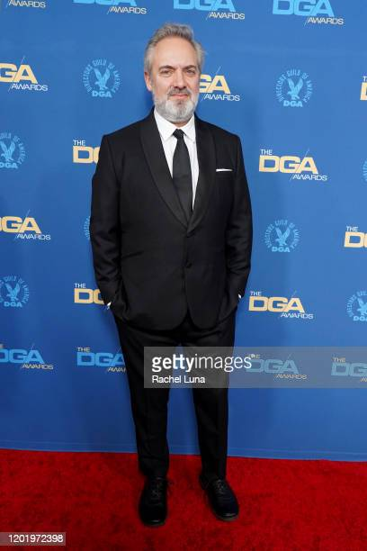 Sam Mendes arrives for the 72nd Annual Directors Guild Of America Awards at The Ritz Carlton on January 25 2020 in Los Angeles California