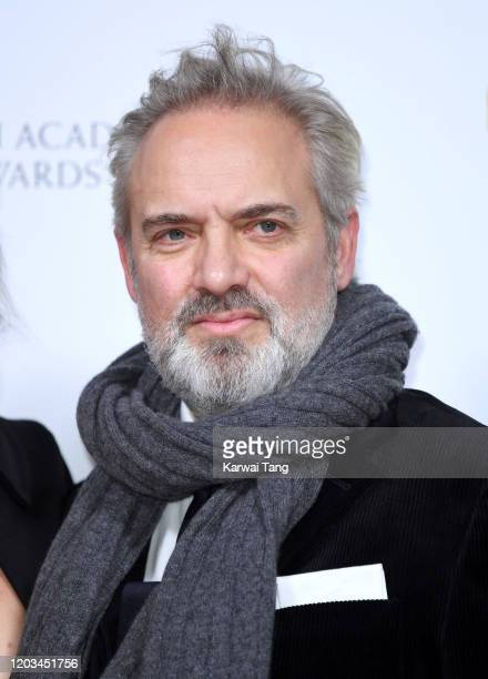 Sam Mendes attends the EE British Academy Film Awards 2020 Nominees' Party at Kensington Palace on February 01 2020 in London England