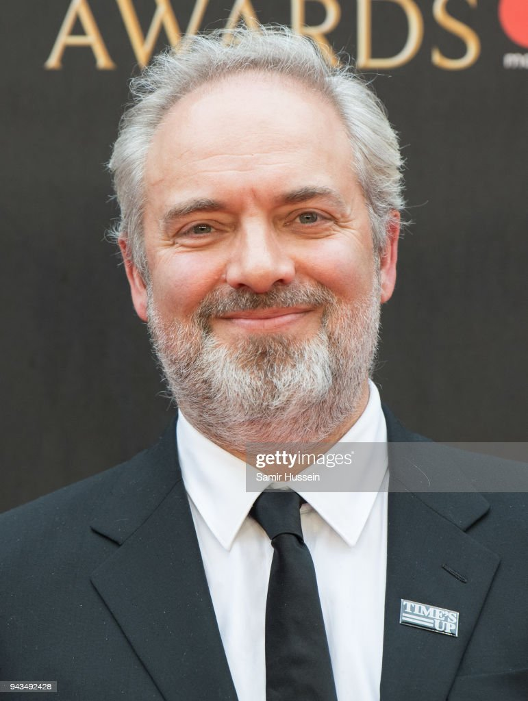 Sam Mendes attends The Olivier Awards with Mastercard at Royal Albert Hall on April 8, 2018 in London, England.