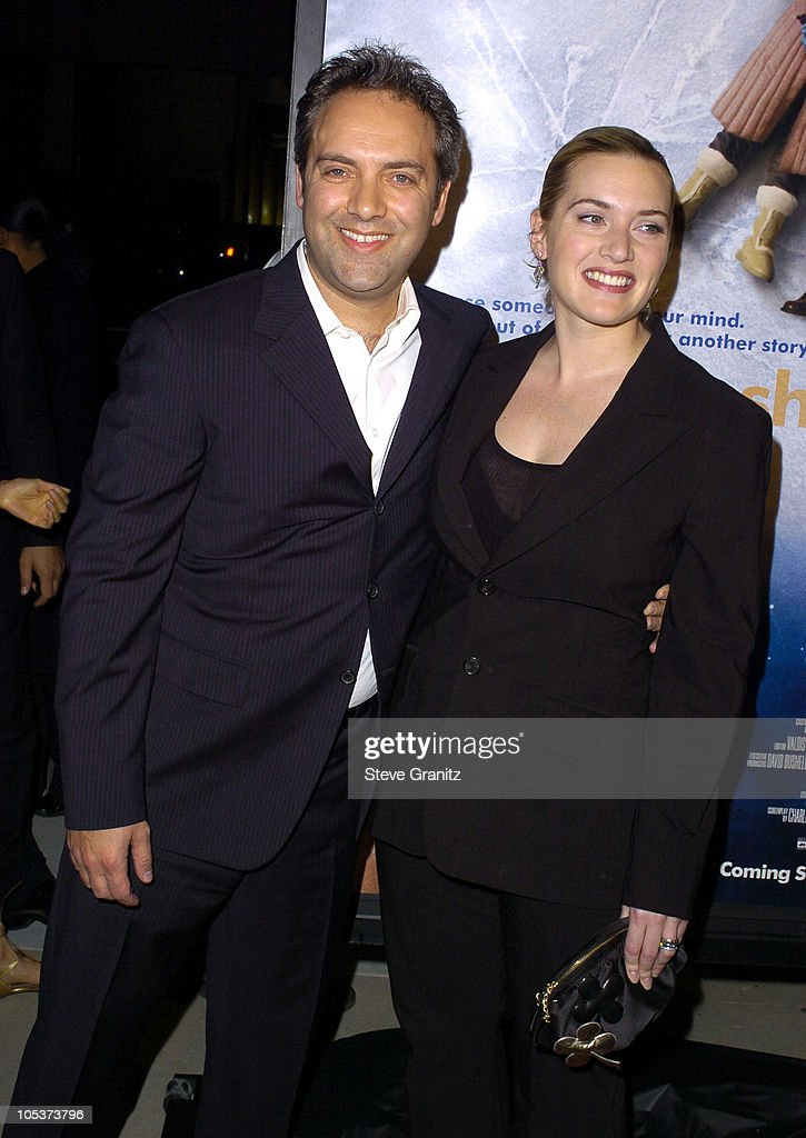 Sam Mendes, Director and Kate Winslet during 'Eternal Sunshine Of The Spotless Mind' - Los Angeles Premiere at Academy Theatre in Beverly Hills, California, United States.