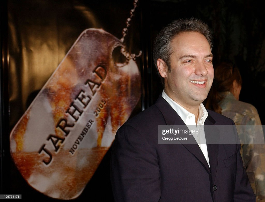 Sam Mendes, director during Universal Pictures' 'Jarhead' World Premiere - Arrivals at Arclight Hollywood in Hollywood, California, United States.