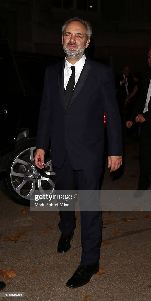 Sam Mendez attending the Spectre Premiere after party at the British Museum on October 26, 2015 in London, England.