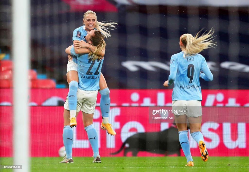 Everton v Manchester City - Vitality Women's FA Cup: Final : News Photo