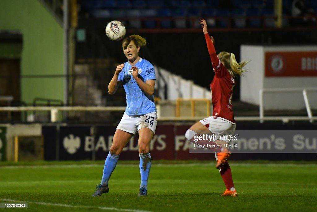 Bristol City Women v Manchester City Women - Barclays FA Women's Super League : News Photo