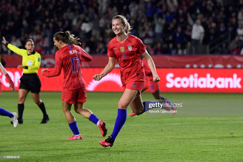 Mexico v United States: Semifinals - 2020 CONCACAF Women's Olympic Qualifying : News Photo