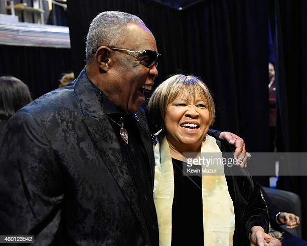 Sam Moore and Mavis Staples attend the 37th Annual Kennedy Center Honors at The John F Kennedy Center for Performing Arts on December 7 2014 in...