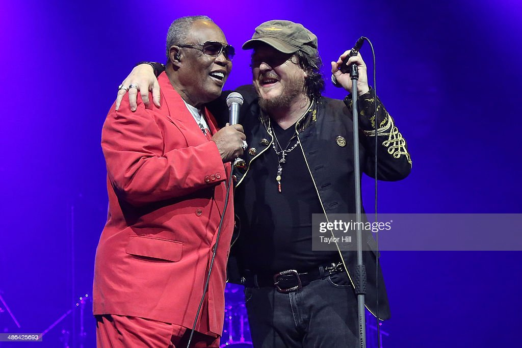 Sam Moore and Zucchero perform at The Theater at Madison Square Garden on April 23, 2014 in New York City.