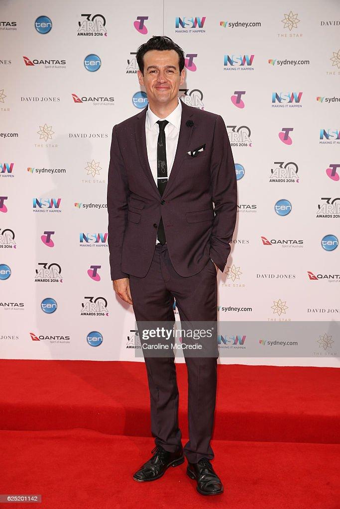 30th Annual ARIA Awards 2016 - Arrivals