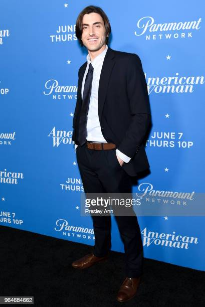 Sam Morgan attends Premiere Of Paramount Network's American Woman Arrivals at Chateau Marmont on May 31 2018 in Los Angeles California
