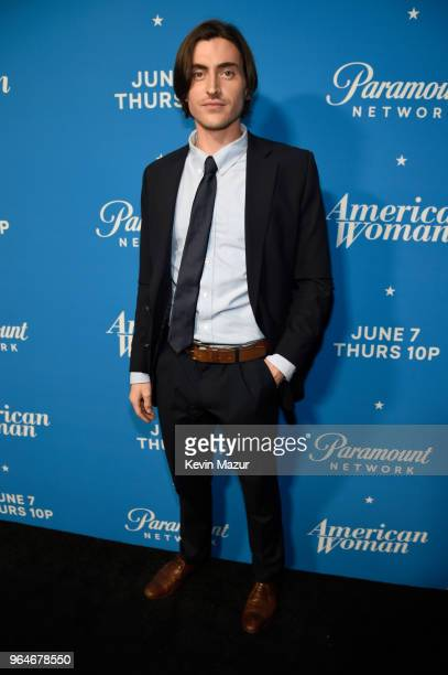 Sam Morgan attends the American Woman premiere party at Chateau Marmont on May 31 2018 in Los Angeles California