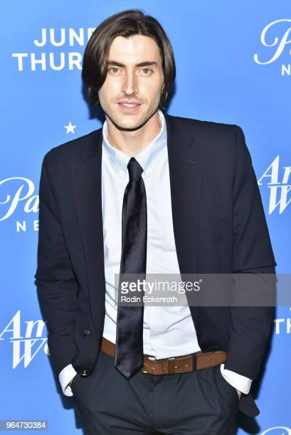 Sam Morgan attends the premiere of Paramount Network's American Woman at Chateau Marmont on May 31 2018 in Los Angeles California