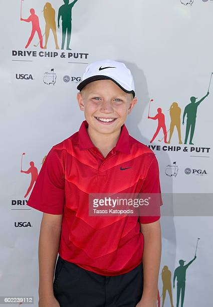 Sam Morris third place overall winner in boys 1011 at the Drive Chip and Putt Regional Qualifier at Southern Hills Country Club on September 10 2016...