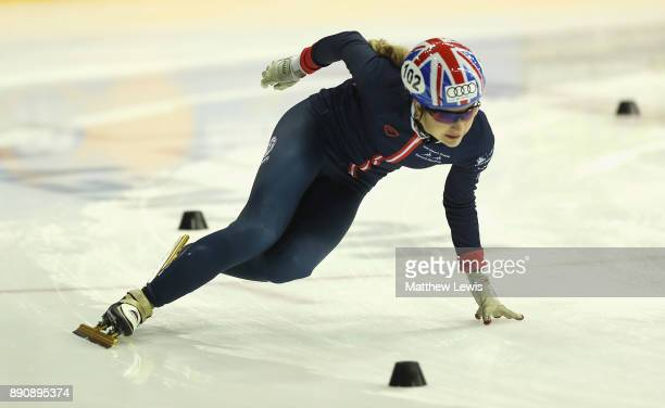 Sam Morrison of Great Britain pictured during a media day for the Athletes Named in the GB Short Track Speed Skating Team for the PyeongChang 2018...