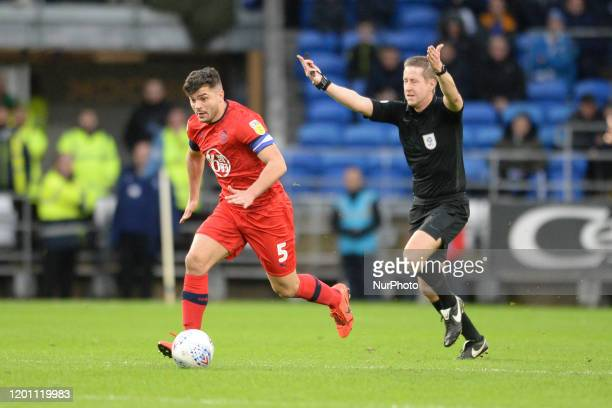Sam Morsy during the Sky Bet Championship match between Cardiff City and Wigan Athletic at the Cardiff City Stadium on February 15 2020 in Cardiff...