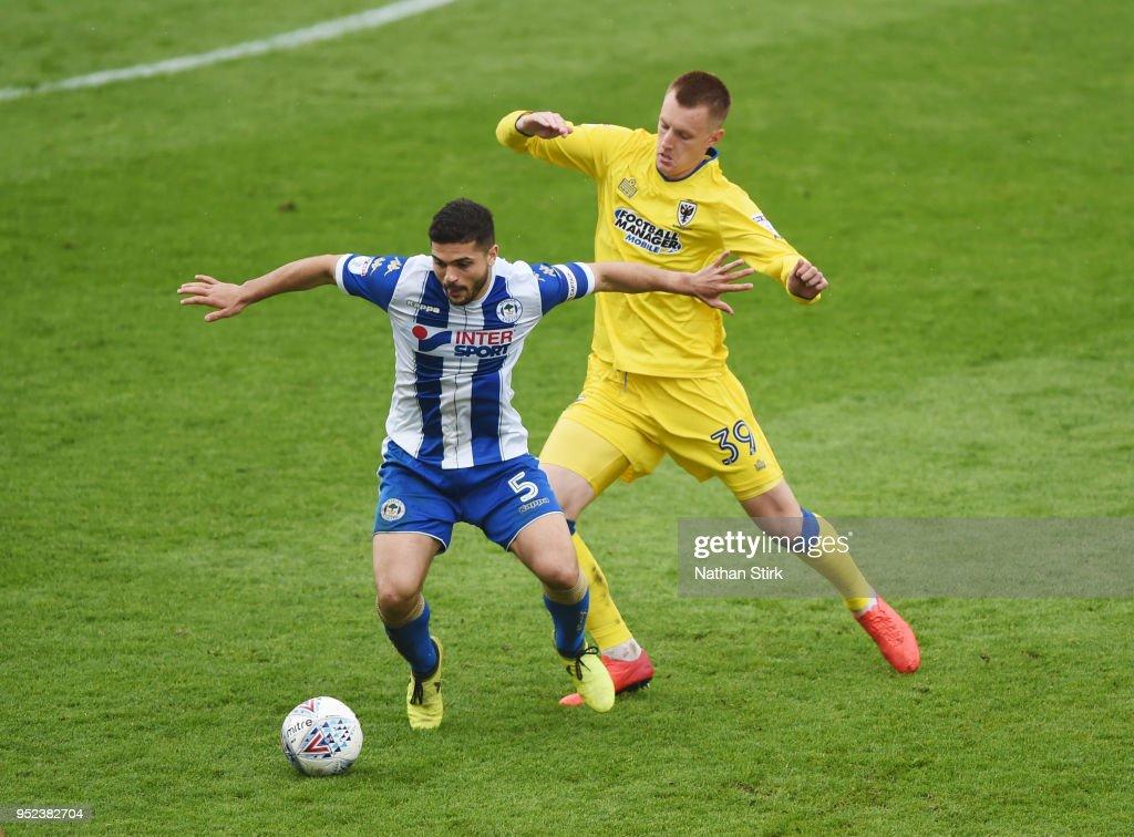 Wigan Athletic v A.F.C. Wimbledon - Sky Bet League One