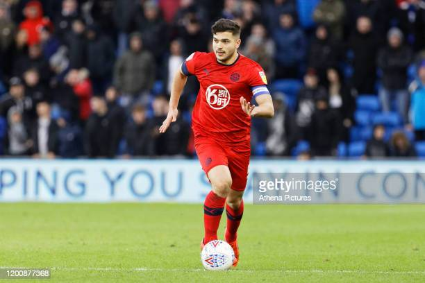 Sam Morsy of Wigan Athletic in action during the Sky Bet Championship match between Cardiff City and Wigan Athletic at the Cardiff City Stadium on...