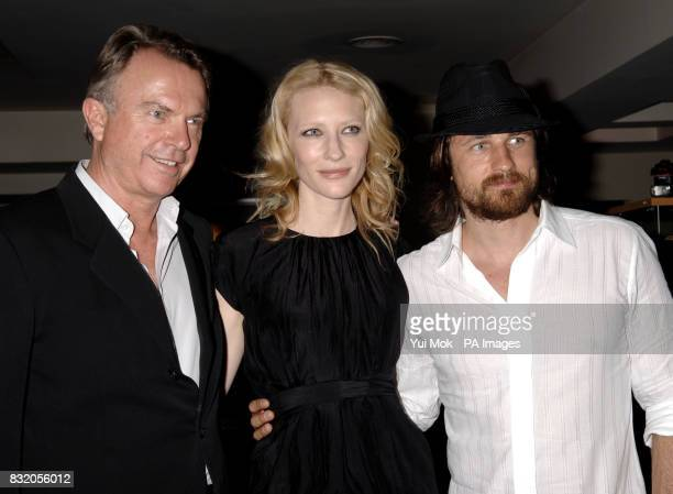 Sam Neill, Cate Blanchett and Martin Henderson arriving for the UK premiere of Little Fish, at the Curzon Soho, central London.Sam Neill and his...