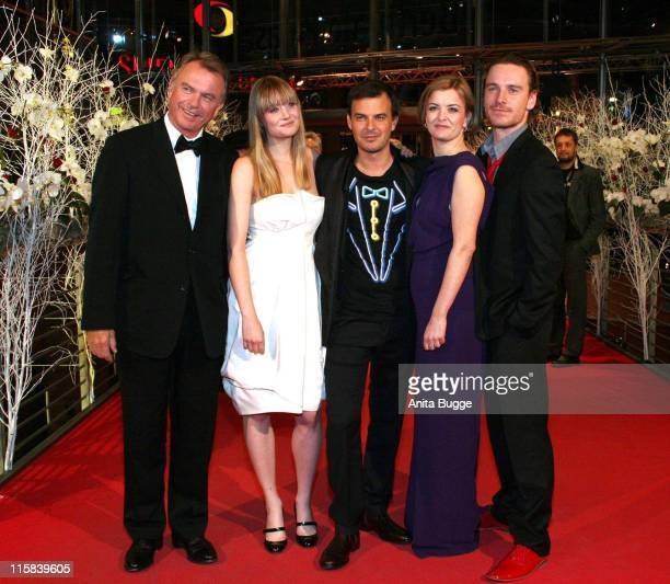 Sam Neill Romola Garai Francois Ozon Lucy Russell and Michael Fassbender