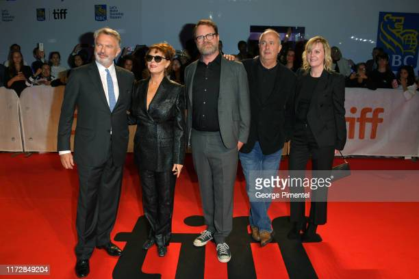 Sam Neill Susan Sarandon Rainn Wilson Roger Michell and guest attend the Blackbird premiere during the 2019 Toronto International Film Festival at...