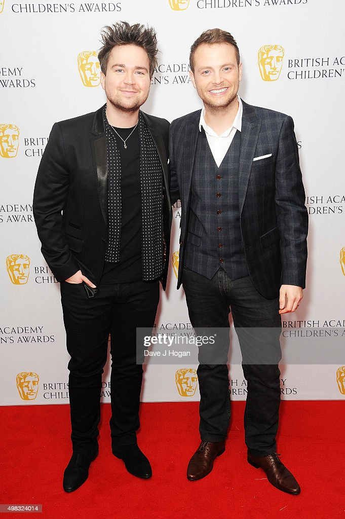 Sam Nixon (L) and Mark Rhodes attend the British Academy Children's Awards at The Roundhouse on November 22, 2015 in London, England.