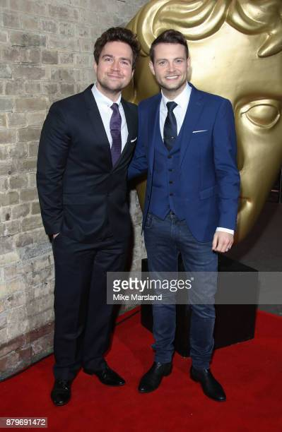 Sam Nixon Mark Rhodes attends the BAFTA Children's awards at The Roundhouse on November 26 2017 in London England