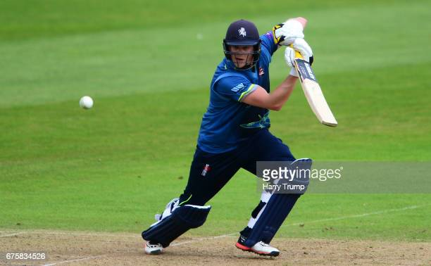 Sam Northeast of Kent bats during the Royal London OneDay Cup match between Somerset and Kent at The Cooper Associates County Ground on May 2 2017 in...