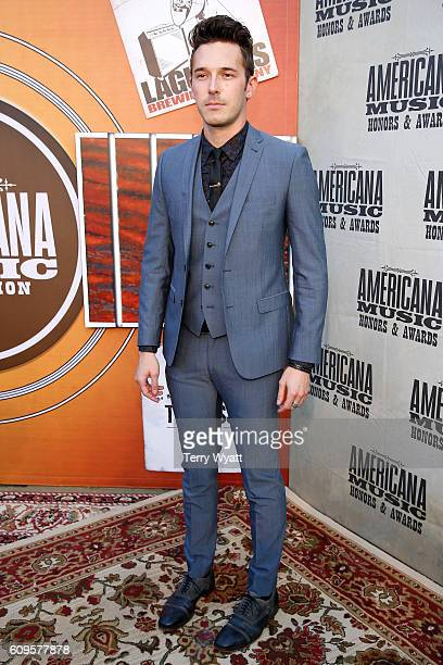 Sam Palladio attends the Americana Honors Awards 2016 at Ryman Auditorium on September 21 2016 in Nashville Tennessee