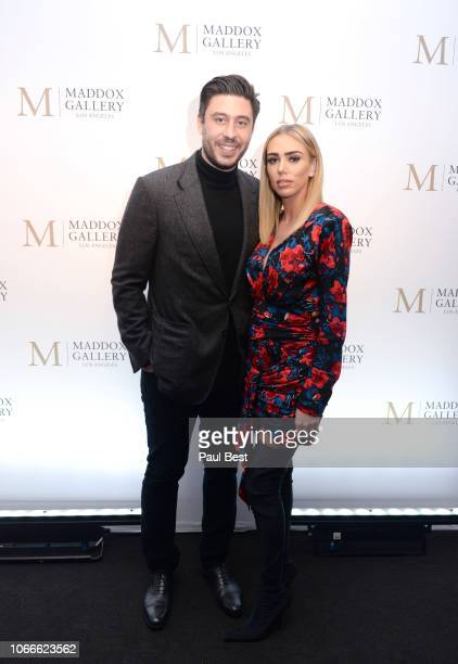 """Sam Palmer and Petra Ecclestone attend The Official VIP Preview Of """"Empyrean"""" By Raphael Mazzucco At Maddox Gallery LA hosted By Petra Ecclestone And..."""