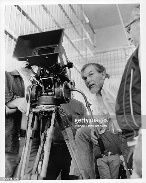 Sam Peckinpah in a scene from the film 'The Getaway' 1972