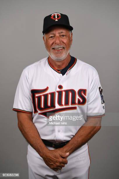 Sam Perlozzo of the Minnesota Twins poses during Photo Day on Wednesday February 21 2018 at CenturyLink Sports Complex in Fort Myers Florida