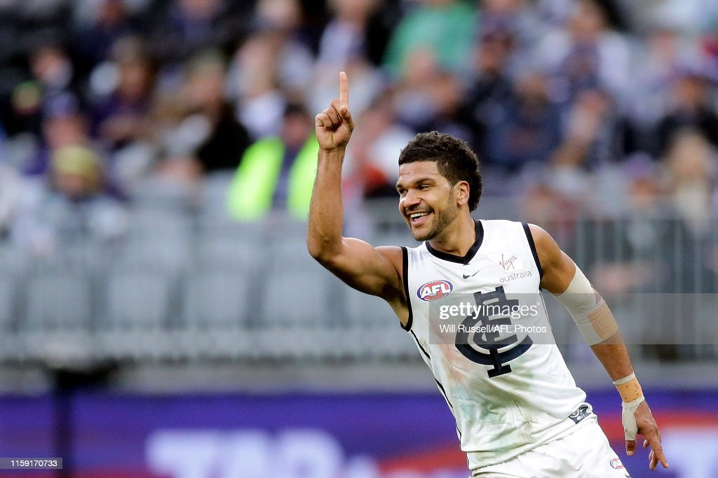 AFL Rd 15 - Fremantle v Carlton : News Photo