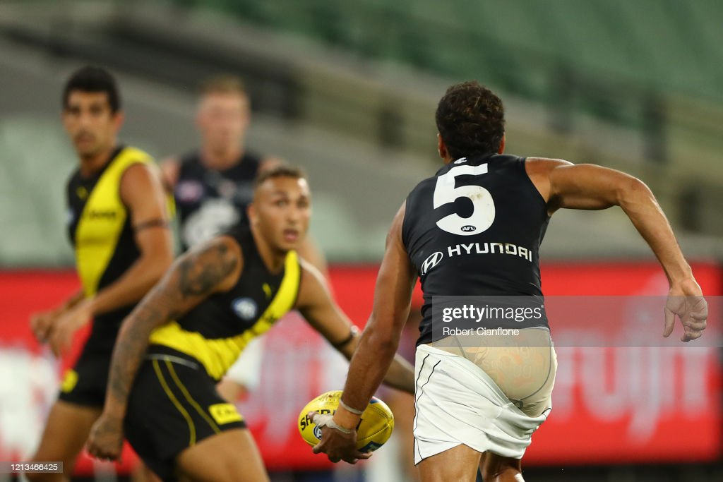 AFL Rd 1 - Richmond v Carlton : News Photo