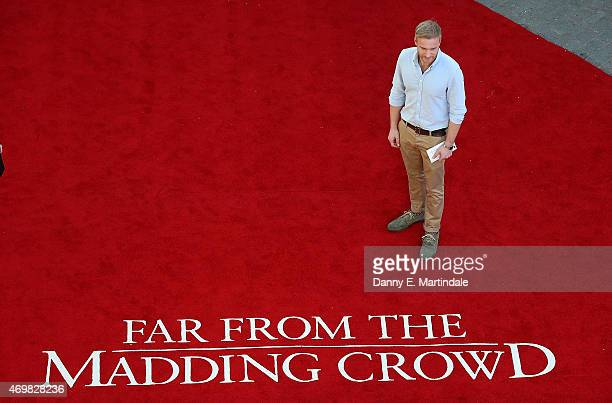 Sam Phillips attends the World Premiere of Far From The Madding Crowd at BFI Southbank on April 15 2015 in London England