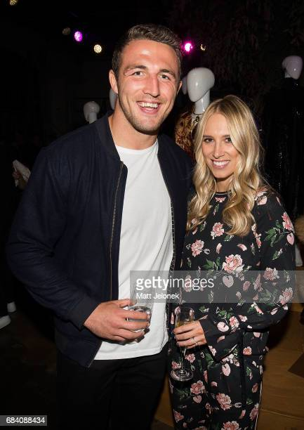 Sam Phoebe Burgess arrives ahead of the Ellery X Etihad Airways event at MercedesBenz Fashion Week Resort 18 Collections at The Elston Room...
