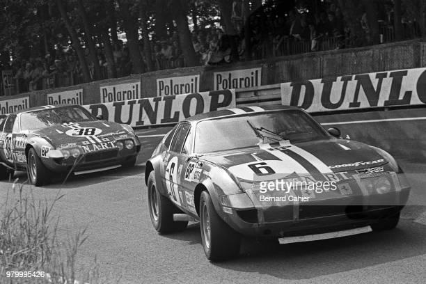 Sam Posey Ferrari 365 GTB/4 Daytona 24 Hours of Le Mans Le Mans 10 June 1973