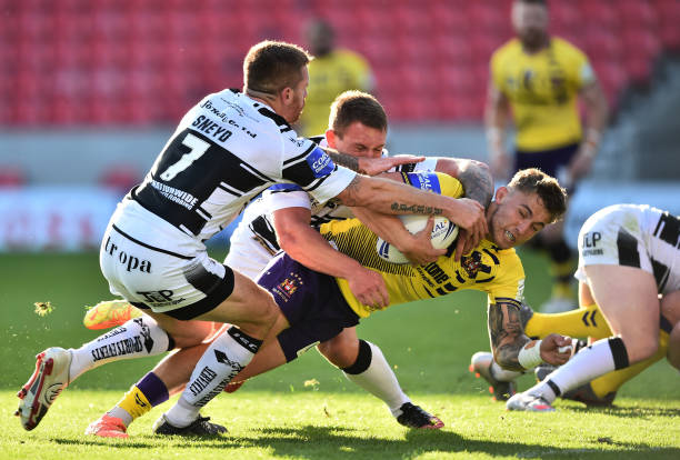 GBR: Hull FC v Wigan Warriors - Coral Challenge Cup Quarter Final