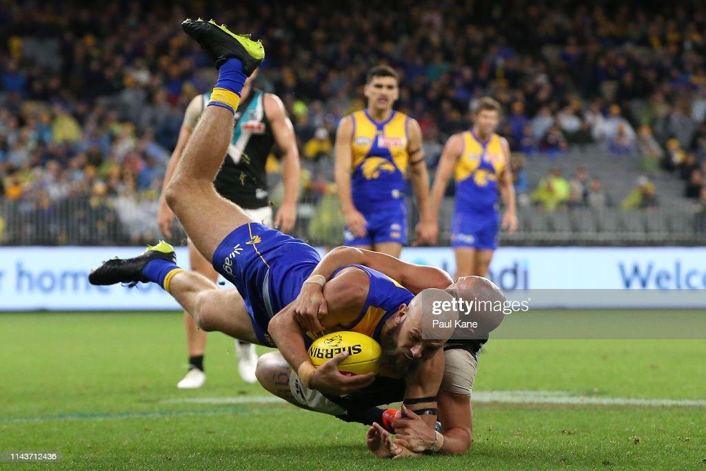AUS: AFL Rd 5 - West Coast v Port Adelaide