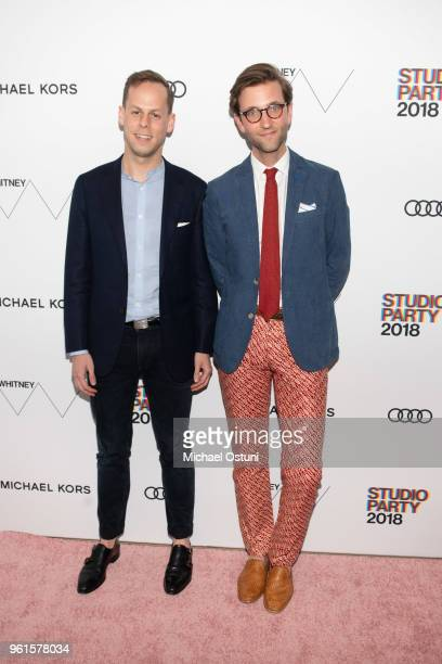 Sam Pritzker and Andrew Cone attend the Whitney Museum Celebrates The 2018 Annual Gala And Studio Party at The Whitney Museum of American Art on May...