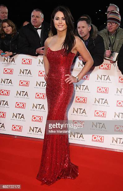 Sam Quek attends the National Television Awards at The O2 Arena on January 25 2017 in London England